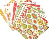 Retro Christmas - 6x6 MemoryStor Paper Pack