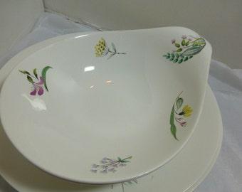 Eva Zeisel Vegetable Dish Bowl Hall Craft Bouquet