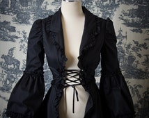 Gloomth Vrai Noir Corset Overcoat (8 colors available)