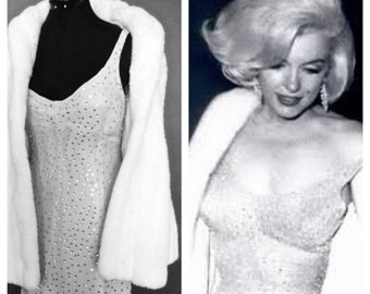 Marilyn Monroe Replica Dress - Happy Birthday Mr. President