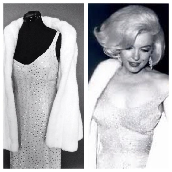 Marilyn Monroes Happy Birthday, Mr. President dress up