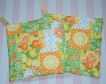 Citrus Potholders