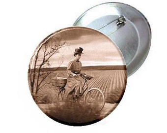 "1"" 1.25"" or 2.25"" Pinback Button - Wizard of oz Wicked Witch -Gulch"