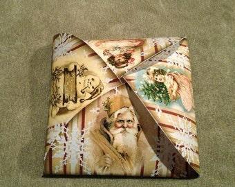 CHRiSTMAS Gift Box Template & Tags- -Primitive Vintage Art -Printable Sheet JPG Digital File -Buy ONe Get ONe FREE-Santa, Snowman Children