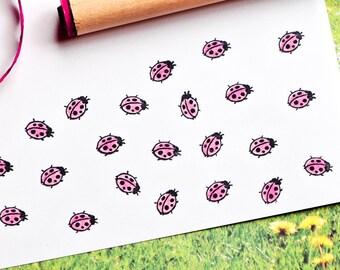 Ladybug Rubber Stamp