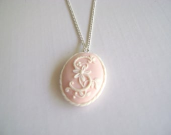 Bridesmaids Gift. Bridesmaids Personalized Jewelry. Monogram Necklace