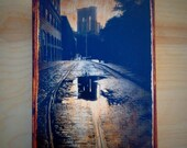 Wall Art - Brooklyn Bridge After Rain Storm  -  4x6 photo