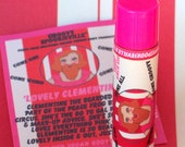 Clementine the Bearded Lady's Slightly Tinted Pink Vegan Lip Conditioner