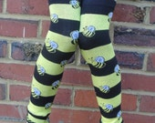 BUSY Bee - KOOL KID Arm / Leg Warmers for Baby, Toddler, Child, Tween Boy or Girl - Fun and Functional Fashion