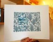 Colorado State Tree print 11x14