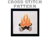 DIY Campfire - .pdf Original Cross Stitch Pattern - Instant Download
