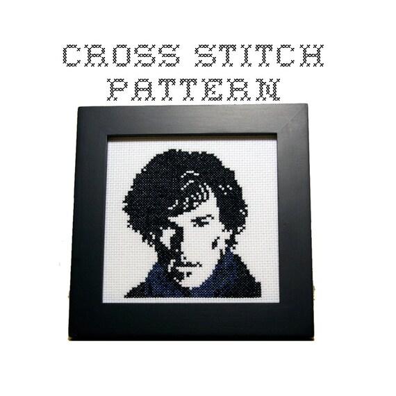 DIY Sherlock - Sherlock Holmes - .pdf Original Cross Stitch Pattern - Instant Download