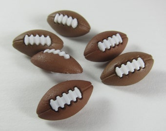 Football Novelty Buttons