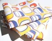 FREE OFFER Reusable ORGANIC Cloth Napkins - Set of 4- Exclusive Organic Prints- Artboard