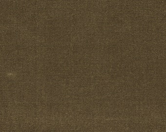 sale - YARDAGE - BURNT SIENNA -  med weight waxed canvas
