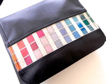 Paintbox satchel available in a range of colours