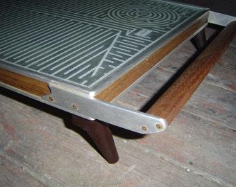 Vintage Mid Century Danish Salton Automatic Hot Tray Appetiser Warmer