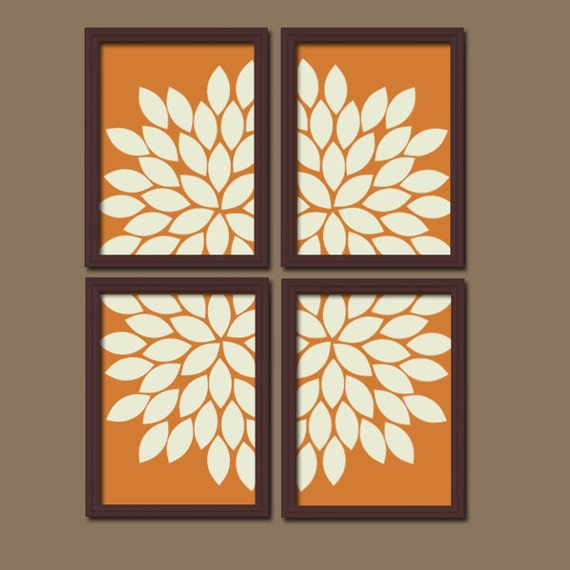 Terra cotta kitchen wall art canvas or prints bedroom by - Kitchen canvas wall decor ...
