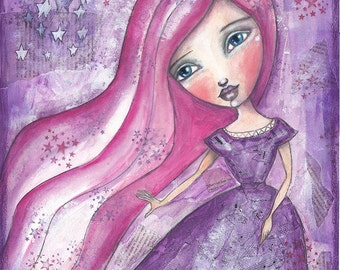 Princess Mia - Print