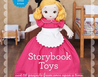 SALE Storybook Toys by Jill Hamor 16 Projects Dolls, Purses, Softies