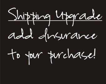 Shipping Upgrade Insurance