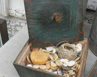 OLD as Dirt Primitives - BUTTON BOX - from Notforgotten Farm