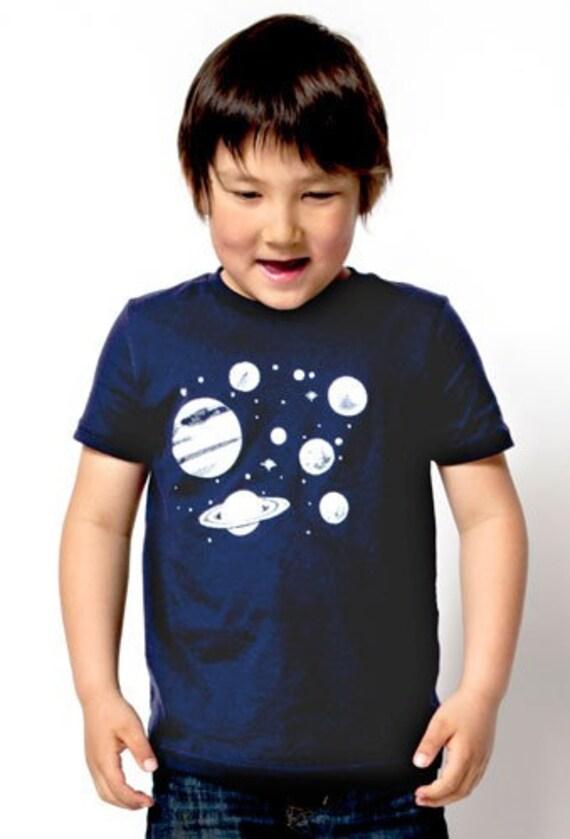 Kids Solar System Tee