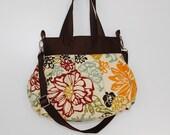 Cross Body Pleated Bag (SMALL  or MEDIUM) w/ Adjustable Strap - Bibi Fiesta