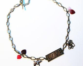 MegaShark Loves Giant Octopus necklace