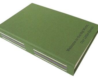 personalized instant film photo album (2-up)