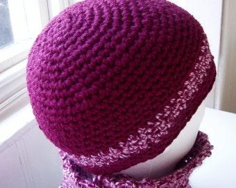CROCHET PATTERN/TONI Mans Crochet Beanie pattern/Easy Crochet Hat/Striped Beanie Hat/Modern Simple Hat Pattern/ Easy Mans Hat Pattern/Beanie