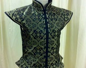 CUSTOM LISTING for Yingtai - Custom Renaissance Men's Brocade Doublet and sleeves