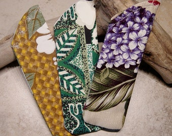Reader Eyeglass Sleeve, Reader Glass Case,Tropical Floral Fabrics