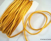 BOGO - 25ft Gold Satin Cord 2mm Rattail - 25 ft - STR9067CD-GD25 - Buy 1, Get 1 Free - No coupon required