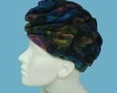 Vintage 60s Turban Hat Frank M Benson