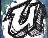 Alphabet- Letter U
