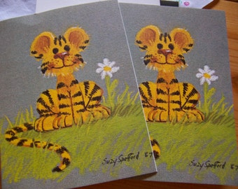two 1968 suzy's zoo cards