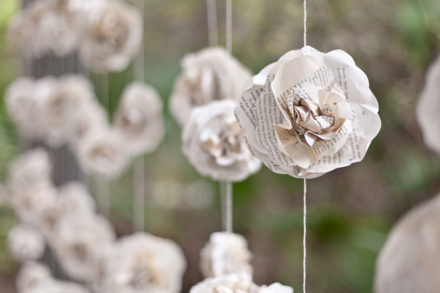 One wedding garland 10 ft long paper flower roses beautiful zoom dhlflorist Image collections