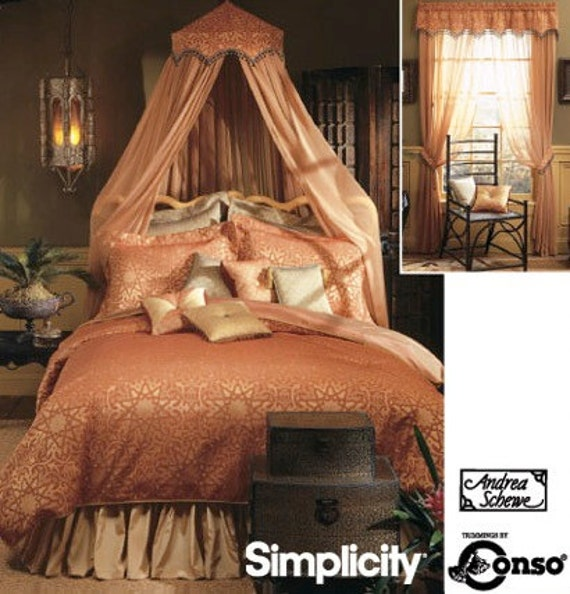 Home Decor Sewing Pattern Bedroom Accessories With Valance