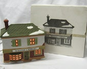 Department 56 Dickens Village Scrooge & Marley Counting House 1986