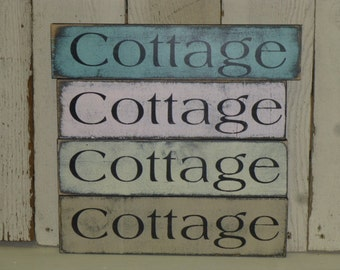 Popular items for cottage sign on Etsy