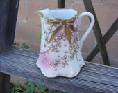 Vintage Antique Small Handpainted Nippon Pitcher