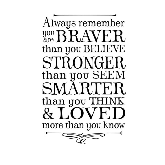 You Think Quotes: Winnie The Pooh Quotes Braver Than You Think. QuotesGram