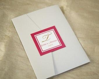 Horizontal 5 x 7 Pocket Fold Suite