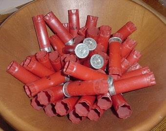 Empty Shotgun Shells Lot of 50 12 gauge Winchester Steampunk Jewelry Redneck Man Cave Free Shipping