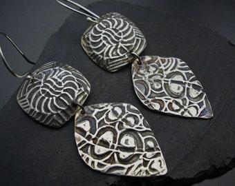 Sanabel- Sterling Silver Earrings - Designs by Suzyn