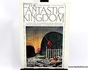 1970s Fantasy Book Cover Art Vintage The Fantastic Kingdom Art
