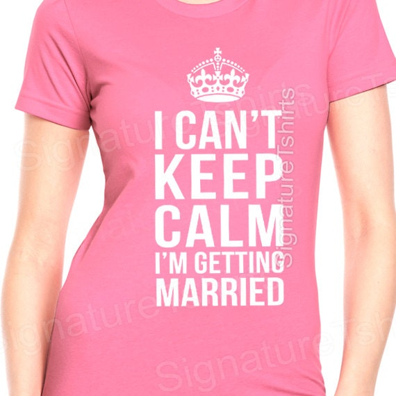 Items Similar To Bride Shirt Wedding Womens T Shirt I Can