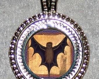 BAT Medieval Vampire Pendant