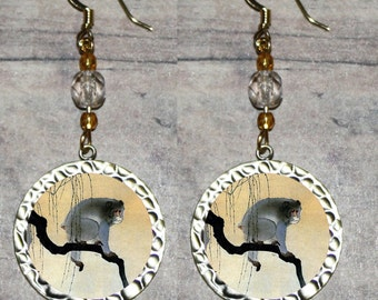 Asian MONKEY Earrings